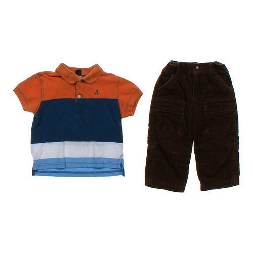 babyGap Polo & Pants Set in size 12 mo at up to 95% Off - Swap.com