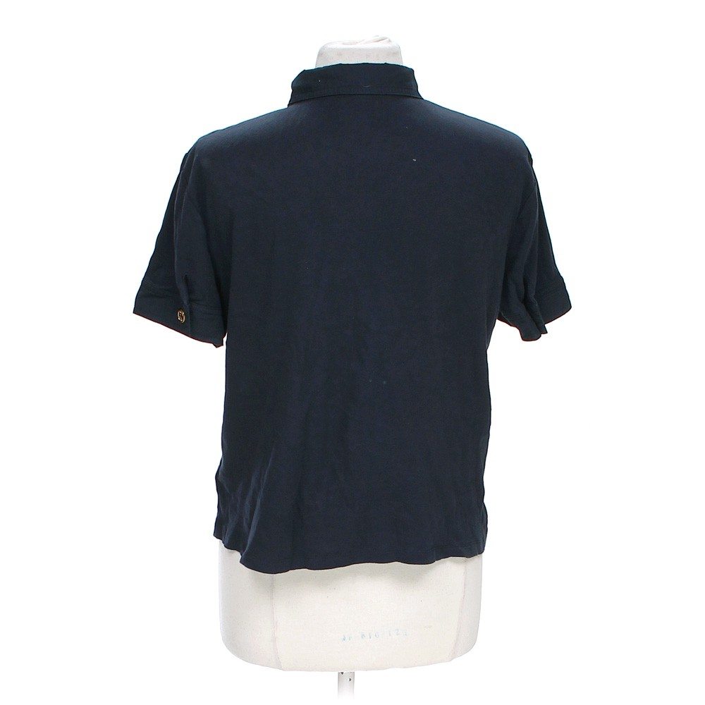 Blue navy chaps polo shirt in size xl at up to 95 off for Chaps shirts on sale