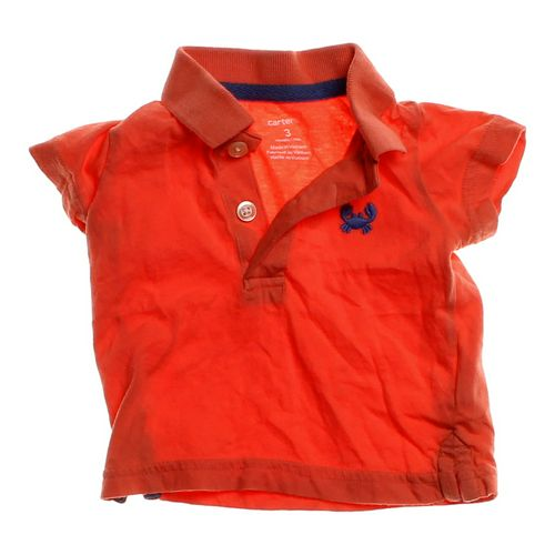 Carter's Polo Shirt in size 3 mo at up to 95% Off - Swap.com