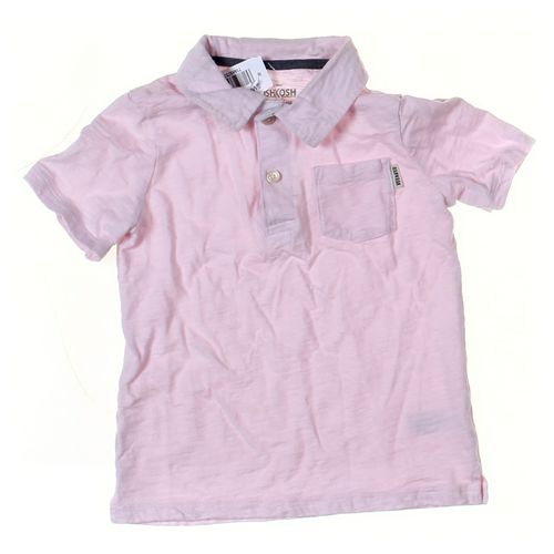OshKosh B'gosh Polo Shirt in size 5/5T at up to 95% Off - Swap.com