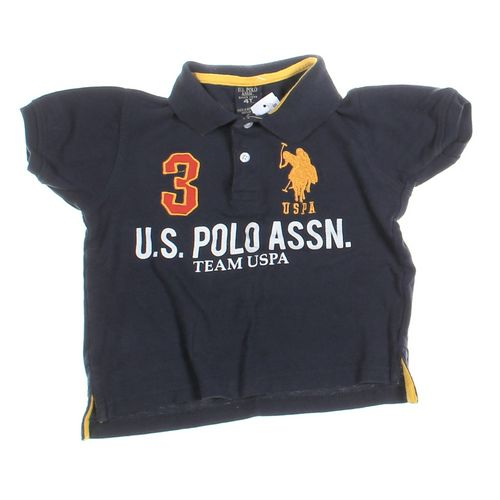 U.S. Polo Assn. Polo Shirt in size 4/4T at up to 95% Off - Swap.com
