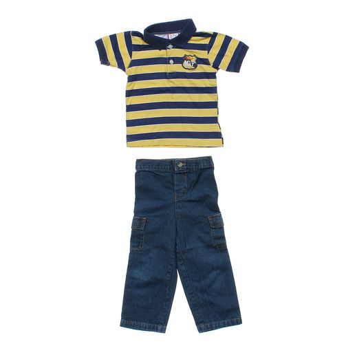 Baby Togs Polo Shirt & Jeans Set in size 24 mo at up to 95% Off - Swap.com