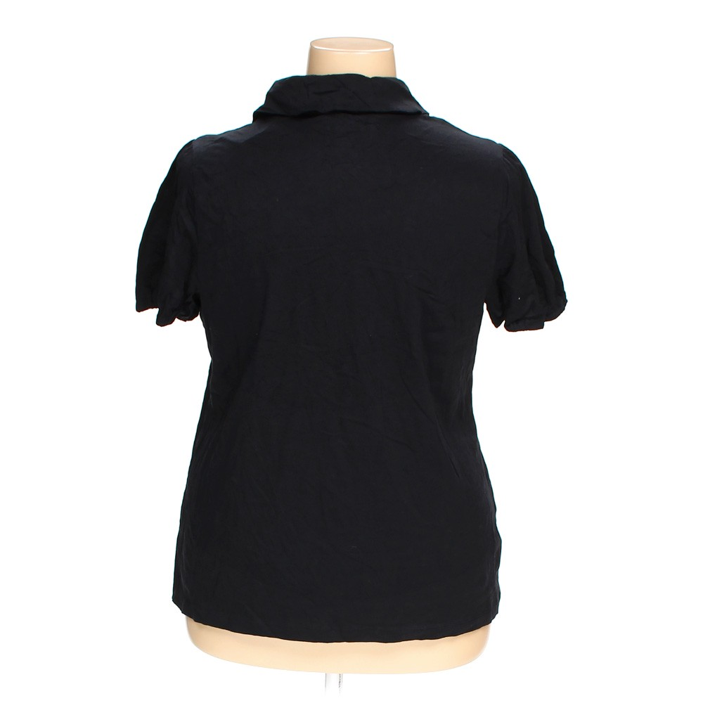 black lane bryant polo shirt in size 18 at up to 95 off