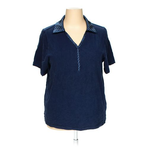 Liz & Me Polo Shirt in size 1X at up to 95% Off - Swap.com