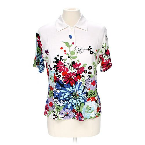 Paola Davoli Polo Shirt in size XXL at up to 95% Off - Swap.com