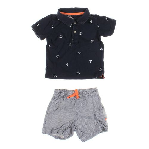 Carter's Polo Shirt & Shorts Set in size 18 mo at up to 95% Off - Swap.com