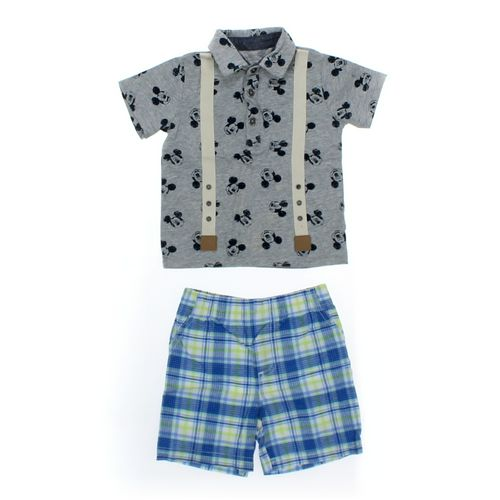 Disney Polo Shirt & Shorts Set in size 9 mo at up to 95% Off - Swap.com