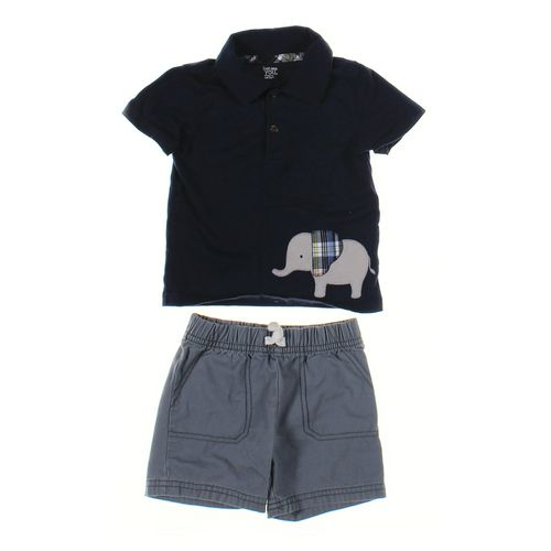 Just One You Polo Shirt & Shorts Set in size 18 mo at up to 95% Off - Swap.com