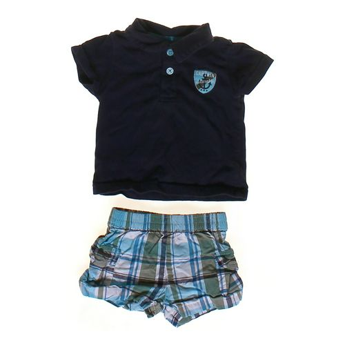 Just One You Polo Shirt & Shorts Set in size 6 mo at up to 95% Off - Swap.com