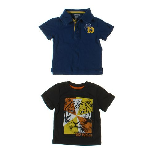 Old Navy Polo Shirt & T-shirt Set in size 12 mo at up to 95% Off - Swap.com