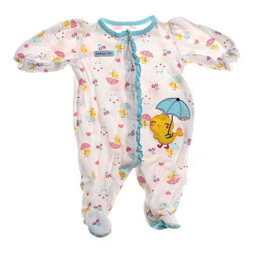 Just One You Precious Footed Pajamas in size 3 mo at up to 95% Off - Swap.com