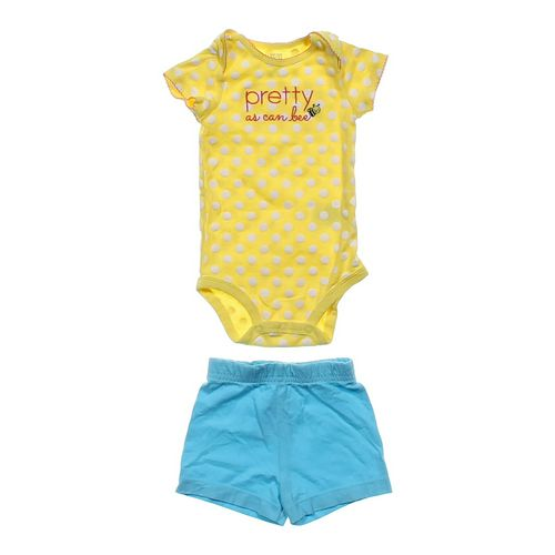 """Just One You """"Pretty As Can Bee"""" Bodysuit & Shorts in size 12 mo at up to 95% Off - Swap.com"""