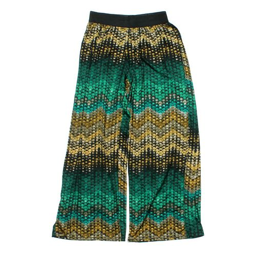 Hot Gal Pretty Patterned Pants in size JR 11 at up to 95% Off - Swap.com