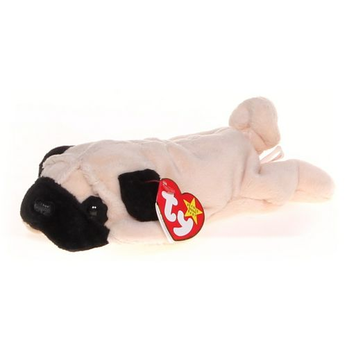 Ty Pugsly the Pug Beanie Baby at up to 95% Off - Swap.com