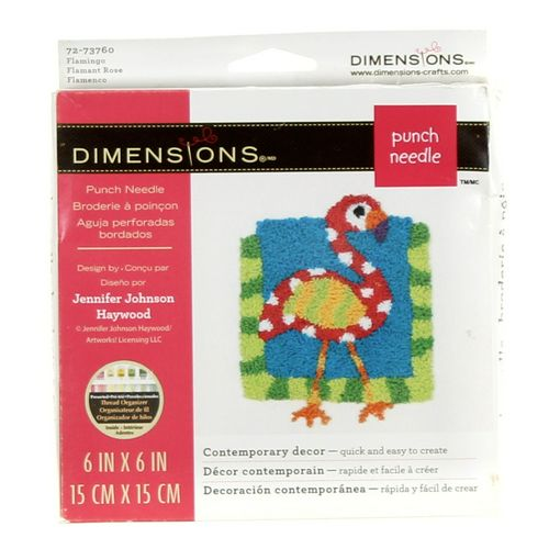 Dimensions Punch Needle Kit at up to 95% Off - Swap.com