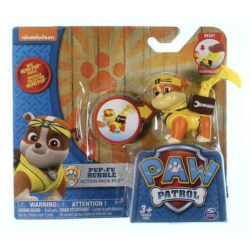 Paw Patrol Pup-Fu Rubble at up to 95% Off - Swap.com