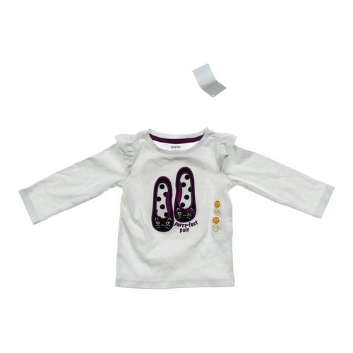 """Gymboree """"Purrr-fect Pair"""" Shirt in size 12 mo at up to 95% Off - Swap.com"""