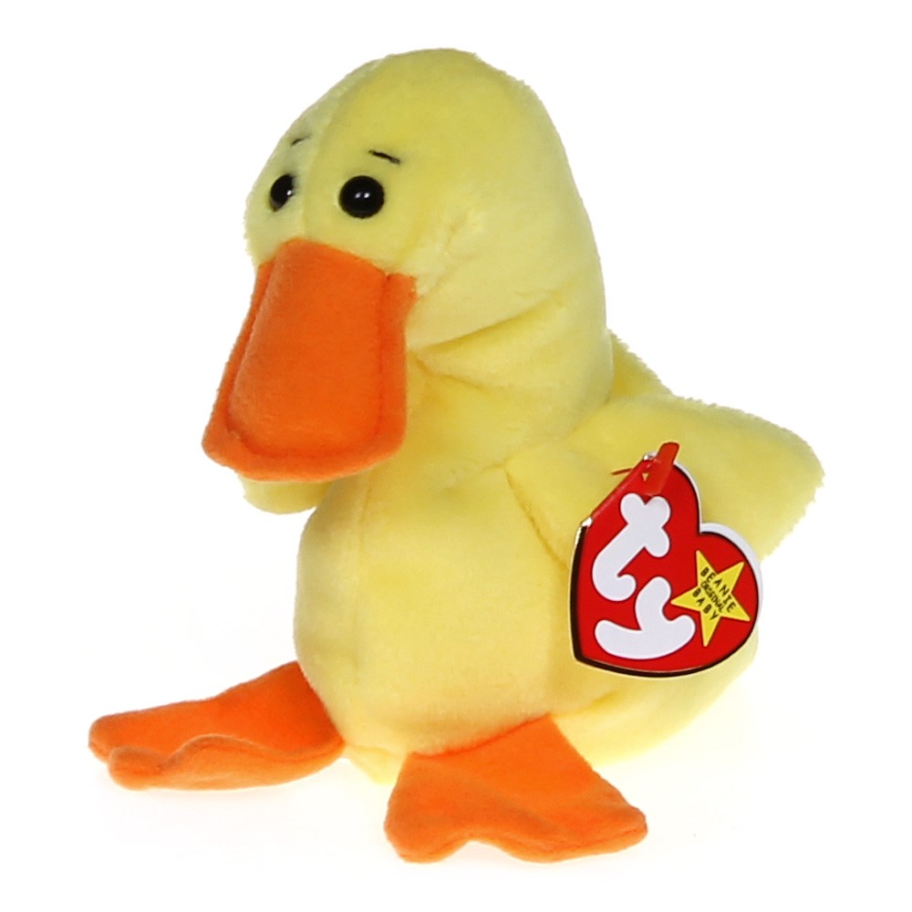 a233eeac3e6 Ty Quackers the Duck Beanie Baby at up to 95% Off - Swap.com