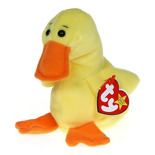 Ty Quackers the Duck Beanie Baby in size at up to 95% Off - Swap.com ada15e7a7ef