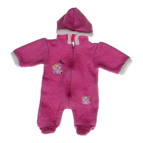 Coney Isle Quilted Footed Pajamas in size 3 mo at up to 95% Off - Swap.com