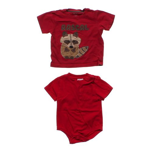 Gymboree Raccoon T-shirt & Pocket Bodysuit in size 18 mo at up to 95% Off - Swap.com