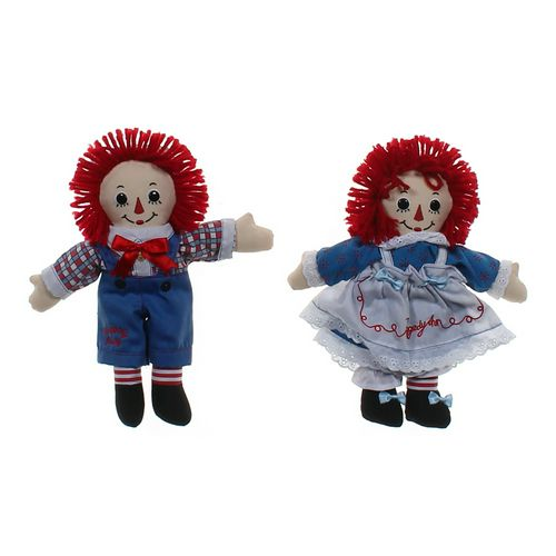 Raggedy Andy & Ann Rag Doll Set at up to 95% Off - Swap.com