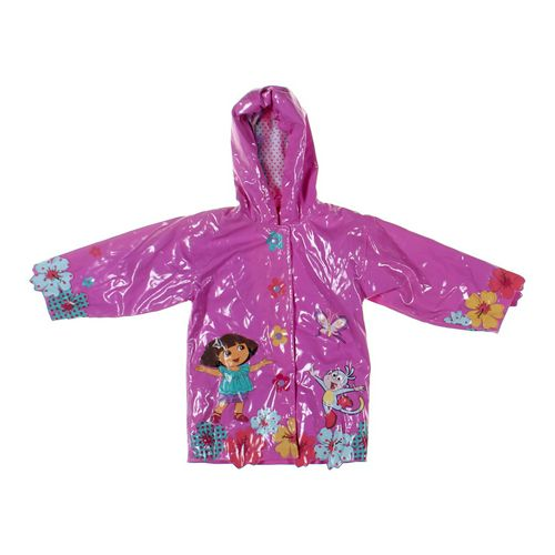 Dora the Explorer Rain Jacket in size 4/4T at up to 95% Off - Swap.com