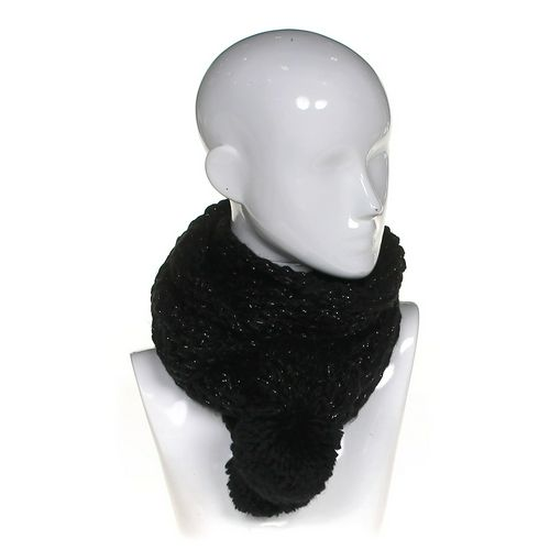 Rampage Rampage Knitted Black Scarf at up to 95% Off - Swap.com