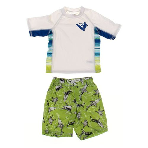 Kids R Us Rash Guard & Swimwear Set in size 3/3T at up to 95% Off - Swap.com