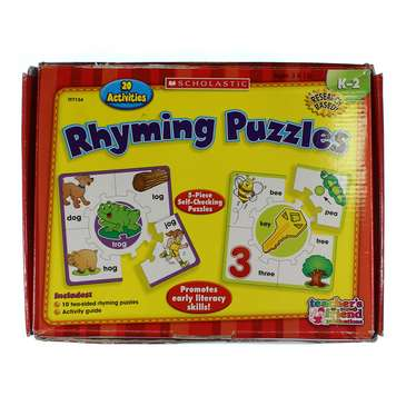 Rhyming Puzzles Puzzle for Sale on Swap.com