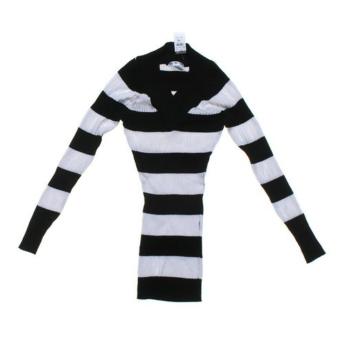 Say What? Ribbed Striped Sweater Tunic in size JR 15 at up to 95% Off - Swap.com