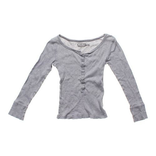 Mudd Ribbed Wide Neck Shirt in size JR 3 at up to 95% Off - Swap.com