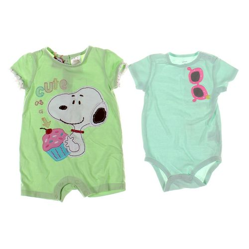 Snoopy Romper & Bodysuit Set in size 24 mo at up to 95% Off - Swap.com