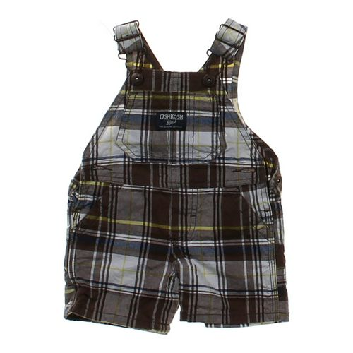 OshKosh B'gosh Romper Overalls in size 6 mo at up to 95% Off - Swap.com