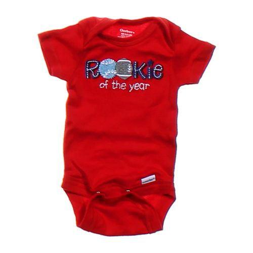 Gerber Rookie Of The Year Bodysuit in size NB at up to 95% Off - Swap.com