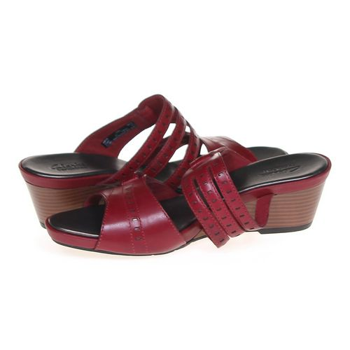 Clarks Rouge Sandals in size 10 Women's at up to 95% Off - Swap.com