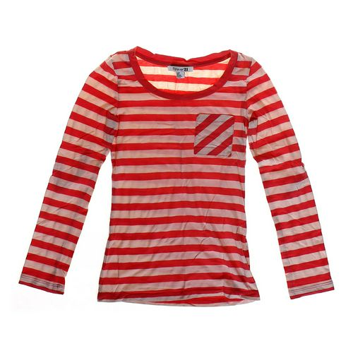 Forever 21 Round Neck Striped Shirt in size JR 3 at up to 95% Off - Swap.com