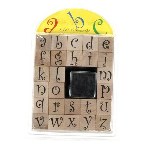 Stampabilities Rubber Stamp Alphabet at up to 95% Off - Swap.com