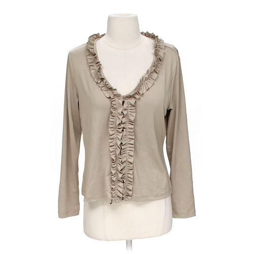 Sarah B Studio Ruffled Blouse in size M at up to 95% Off - Swap.com