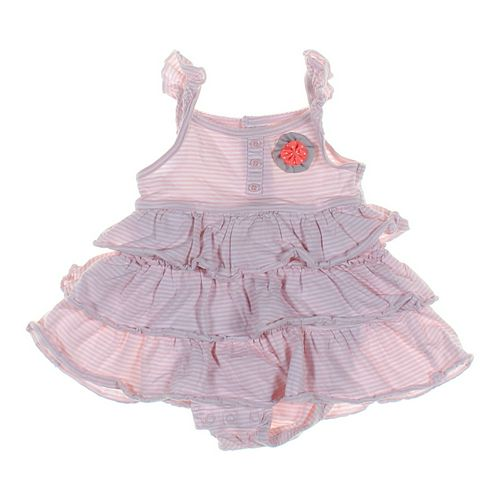 Carter's Ruffled Bodysuit Dress in size 12 mo at up to 95% Off - Swap.com
