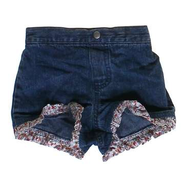 Ruffled Denim Shorts for Sale on Swap.com