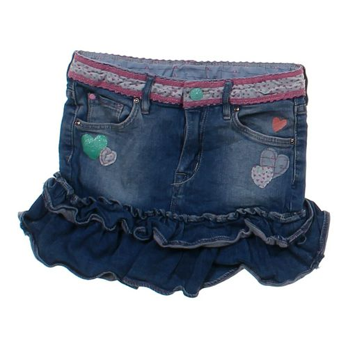 & Denim Ruffled Denim Skirt in size 6 at up to 95% Off - Swap.com