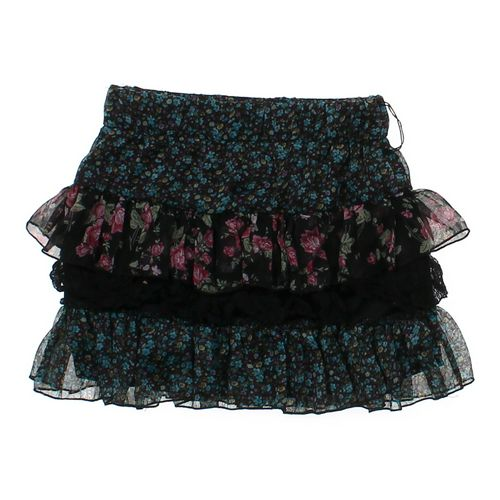 Wet Seal Ruffled Floral Skirt in size JR 7 at up to 95% Off - Swap.com