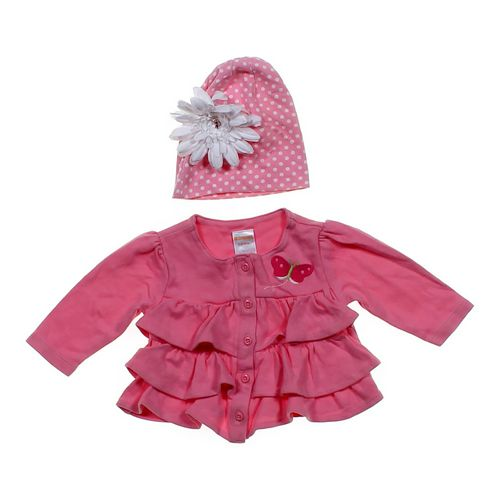 Gymboree Ruffled Jacket & Hat in size 3 mo at up to 95% Off - Swap.com