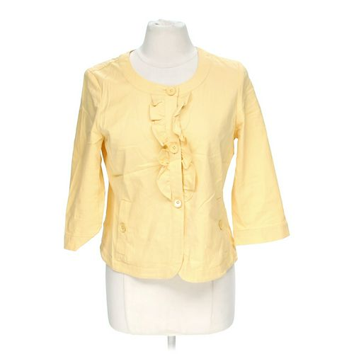 Talbots Ruffled Jacket in size 8 at up to 95% Off - Swap.com