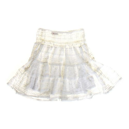 Olsenberg Ruffled Laced Skirt in size JR 3 at up to 95% Off - Swap.com