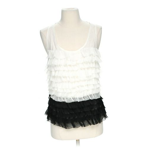 Renn Ruffled Sleeveless Blouse in size S at up to 95% Off - Swap.com