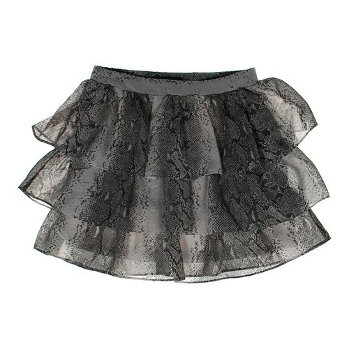 H&M Ruffled Snake Patterned  Skirt in size JR 1 at up to 95% Off - Swap.com