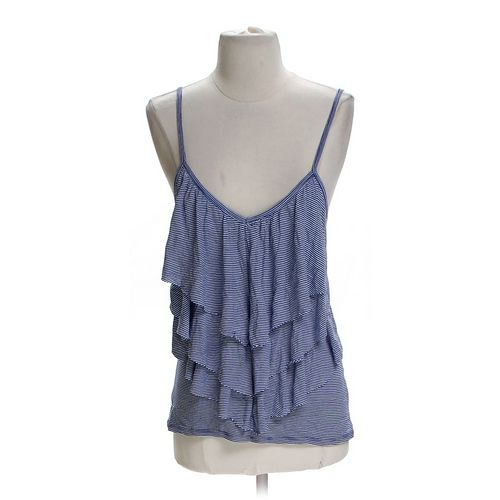 Charlotte Russe Ruffled Tank Top in size S at up to 95% Off - Swap.com