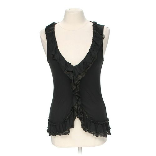 Eyelash Couture Ruffled Tank Top in size S at up to 95% Off - Swap.com